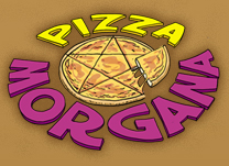 "Pizza Morgana - ""Hot in every dimmension! (Except the icy ones)"""
